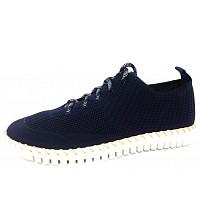 LA STRADA - la strada sneaker - Schnürer - 4560 - knitted blue