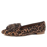 PAUL GREEN - Slipper - leopardino sahara