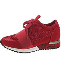 La Strada - Sneaker - lycra red