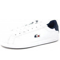 LACOSTE - Graduate - Sneaker - white navy red