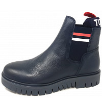 TOMMY HILFIGER - Padded Tonque - Stiefelette - blau