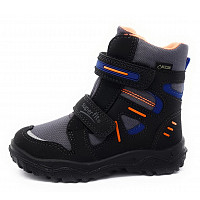 SUPERFIT - Husky1 - Kinderstiefel - schwarz/orange