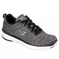 SKECHERS - Sneaker - black/ white
