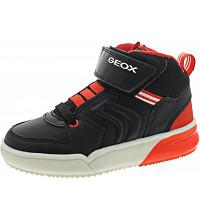 GEOX - Grayjay - Sneaker - black-dk.orange