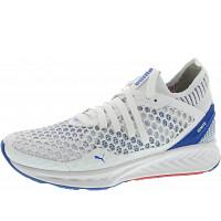 Puma - Ignite Netfit - Sneaker - white-lapis blue-toreador