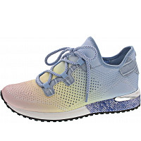 LA STRADA - Sneaker - knitted changing blue