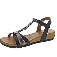 Tamaris - Sandalette - BLACK/PEWTER