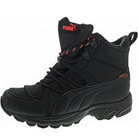 PUMA - Axis TR Boot WTR PT - Schnürstiefel - black-brgy red-whisper wh
