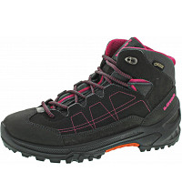 Lowa - Approach GTX Mid Junior - Wanderschuh - anthrazit-beere