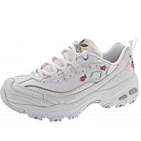 SKECHERS - D´Lites Bright Blossoms - Sneaker - white