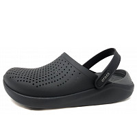 CROCS - Lite Ride Clog - Clogs - black/slade
