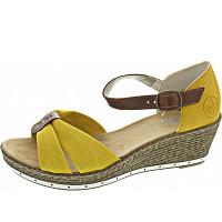 Rieker - Sandalette - yellow/amaretto/gelb