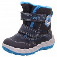 SUPERFIT - Icebird - Klettstiefel - grau blau