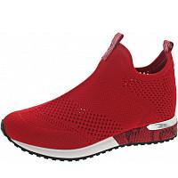 LA STRADA - Slipper - knitted red