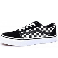 VANS - Ward - Leinenschuh - blk true white