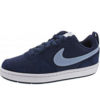NIKE - Court Borough Low 2 (GS) - Sneaker - navy-blue-white