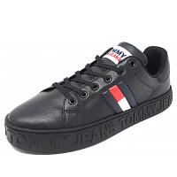 TOMMY HILFIGER - Sneaker - black black