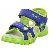 SUPERFIT - Schuh Textil \ SCORPIUS - Sandalen - BLAU/GRÜN