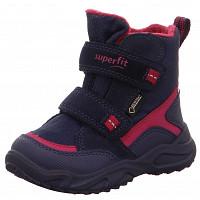 SUPERFIT - Schuh Textil \ GLACIER - Stiefel - BLAU/ROT