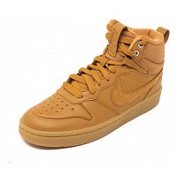NIKE - Borough Mid - Sneaker high - gelb/braun