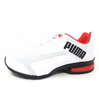 Puma - Leader VT Bold - Sneaker - white red