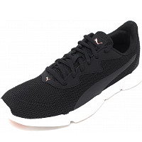 Puma - Interflex Runner - Sneaker - black white rose