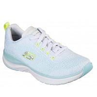 SKECHERS - Sneaker - white/ turquise