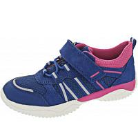 SUPERFIT - STORM - Sneaker - BLAU/ROSA