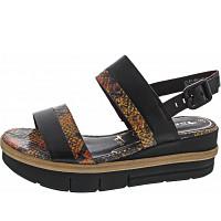TAMARIS - Sandalette - BLACK/SNAKE