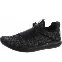 PUMA - Ignite Flash evoKnit - Sneaker - black-periscope-metal bei