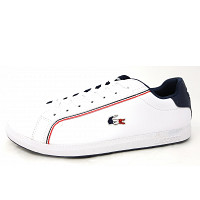 Lacoste - Sneaker - white navy red