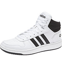 ADIDAS - Hoops Mid Core - Sneaker - white/black