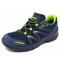 LOWA - Innox Pro GTX LOW - Wanderschuh - stahlblau-limone