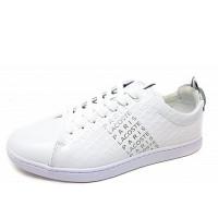 LACOSTE - Sneaker - white silber