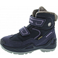 LOWA - Milo GTX Mid - Boots - navy-lila