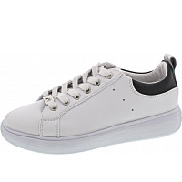 TOM TAILOR - Sneaker - white-black