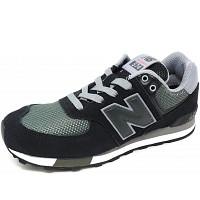 NEW BALANCE - 574 - Sneaker - schwarz