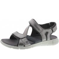 ECCO - Intrinsic - Sandalette - ALU SILVER/BLACK