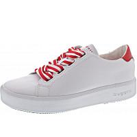 BUGATTI - Kelli - Sneaker - white-red