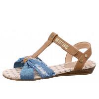 MUSTANG - Sandalen - blau