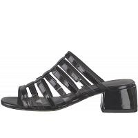 TAMARIS - Klassische Pantoletten - BLACK PATENT