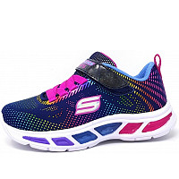 SKECHERS - light beam - Klettverschluss - NVMT navy