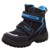 SUPERFIT - Schuh Textil \ SNOWCAT - Stiefel - SCHWARZ/BLAU