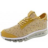 LA STRADA - Sneaker - knitted yellow