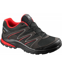 SALOMON - Black/PHANTOM/FIERY RED