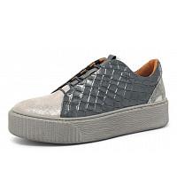 Online Shoes - Da.-Schuh - Schnürhalbschuh - grau