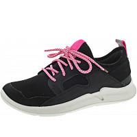 SUPERFIT - THUNDE - Sneaker - SCHWARZ/ROSA