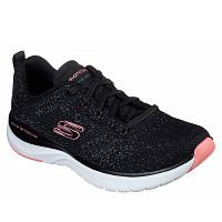 SKECHERS - Sportschuh - black/ pink