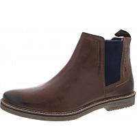 BUGATTI - VANDO - Chelsea-Boots - COGNAC