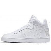 NIKE - Nike Court Borough MID - Sneaker - weiss